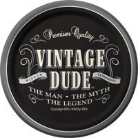 Vintage Dude Over the Hill Party Supplies - Happy Birthday Party Supplies - Milestone Birthday - Birthday Party Supplies - Party City
