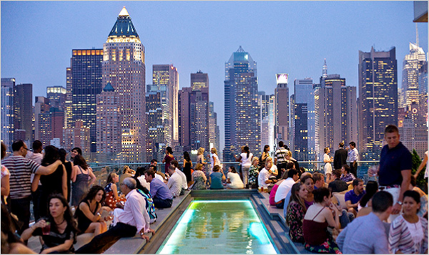 BEST ROOFTOPS IN NEW YORK CITY | Rooftop bars nyc, New ...