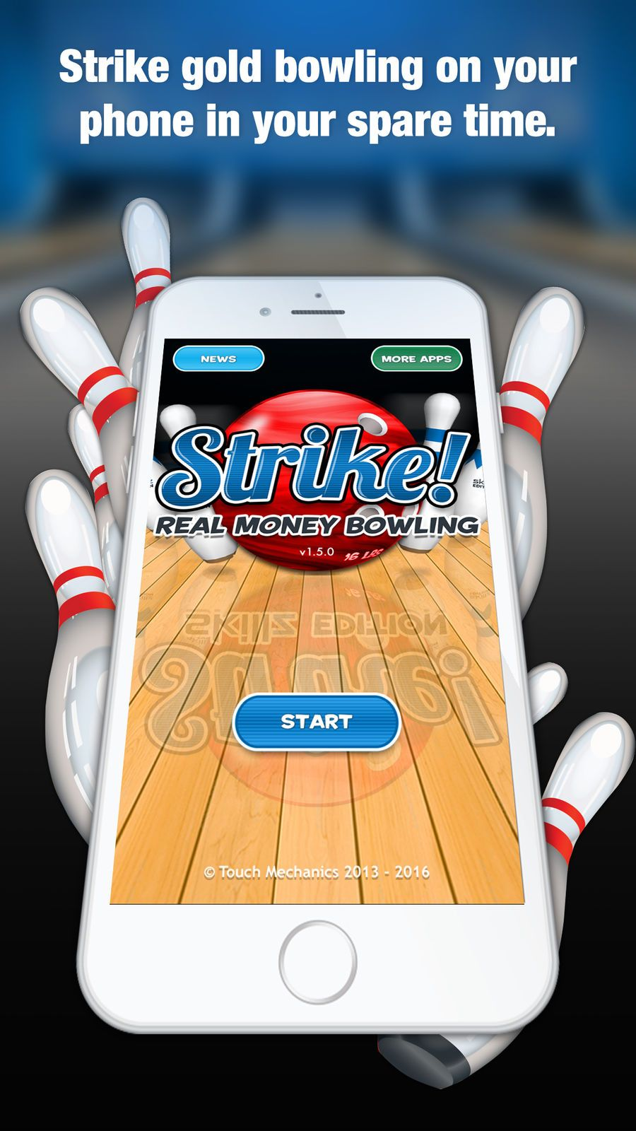 Strike! Real Money Bowling GamesMechanicsSportsios