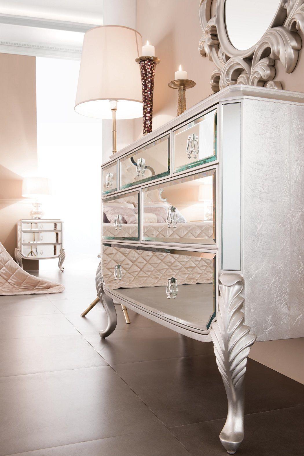 Mirrored Dresser - Florentine | Mirrored dresser bedroom ...