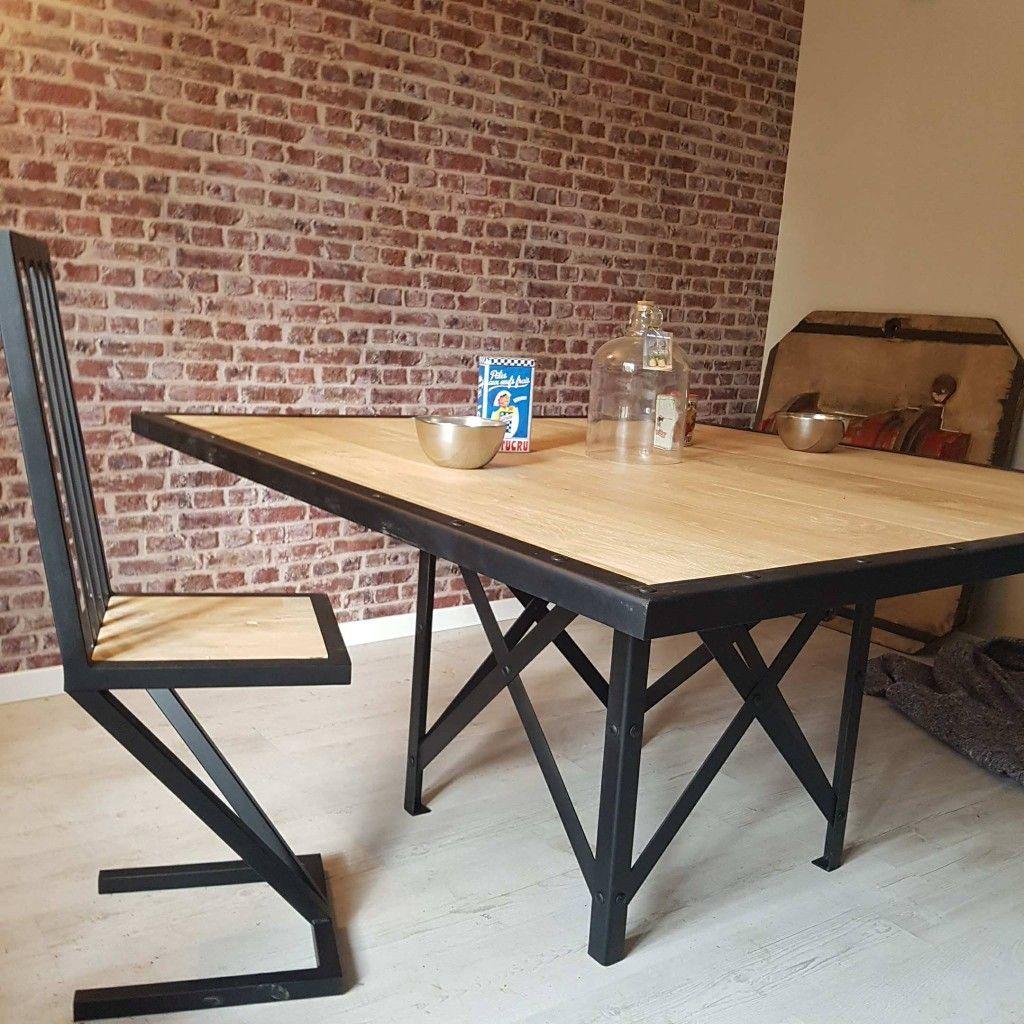 Table Salle A Manger Atelier Sulak Le Mans De Fabrication Francaise