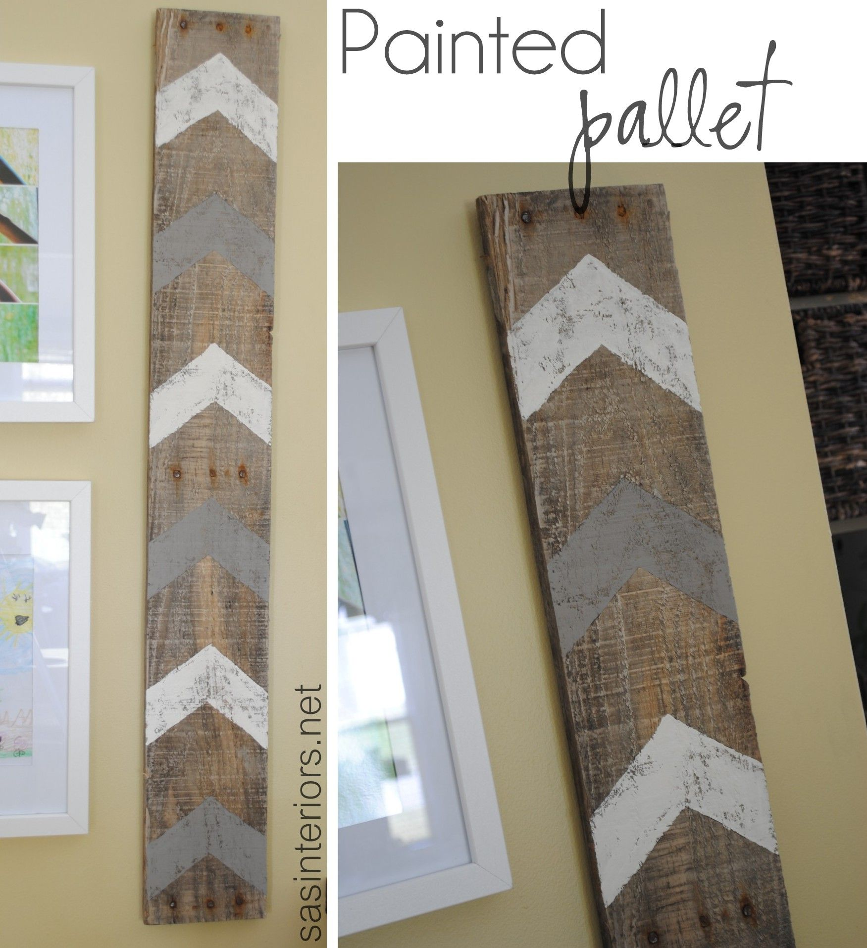 Painted pallet wall art before and after pinterest gallery