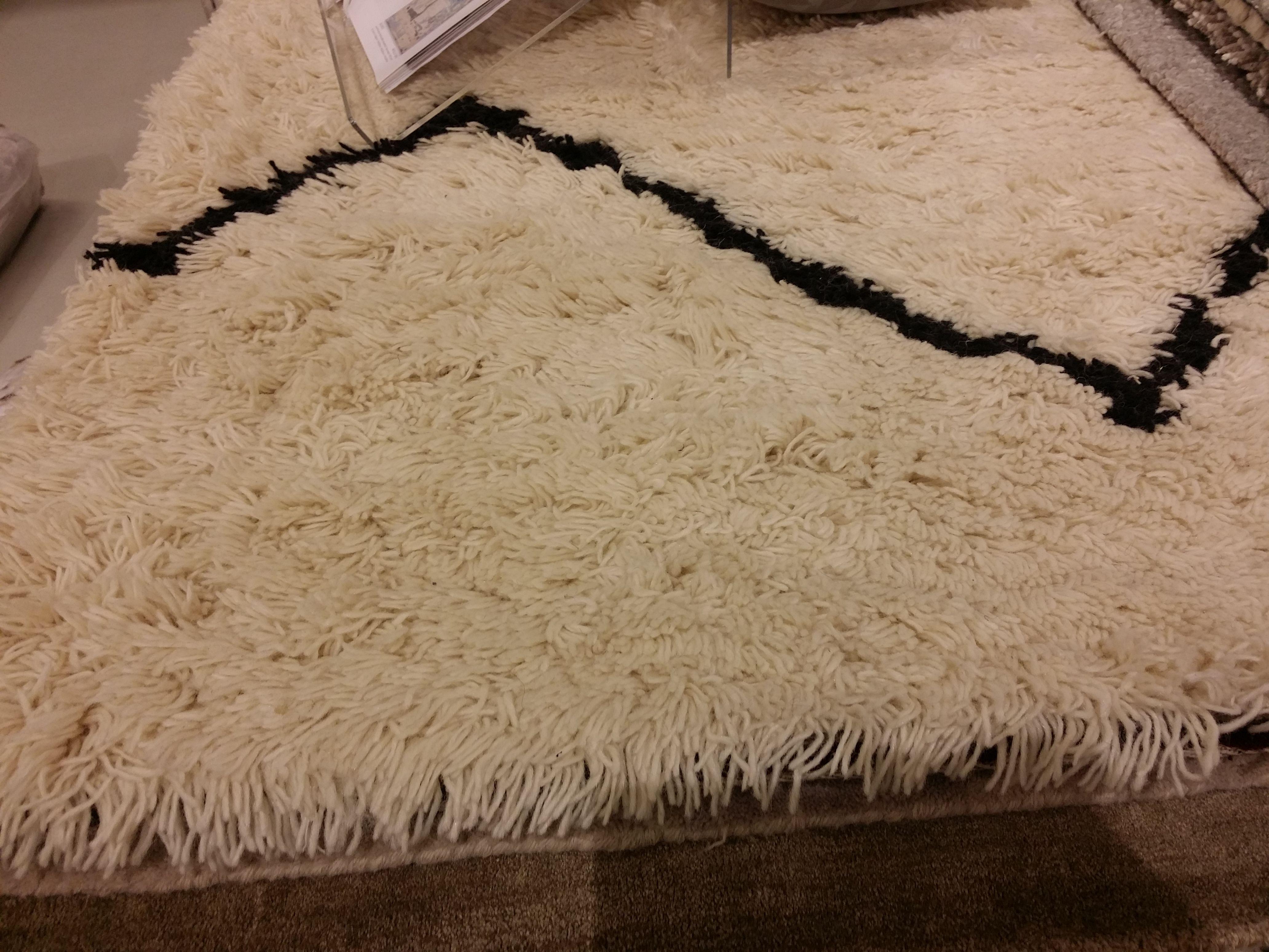 tapis blanc berbera saint maclou 160x230 339 tapis berbere beniouarain carpet blanc. Black Bedroom Furniture Sets. Home Design Ideas