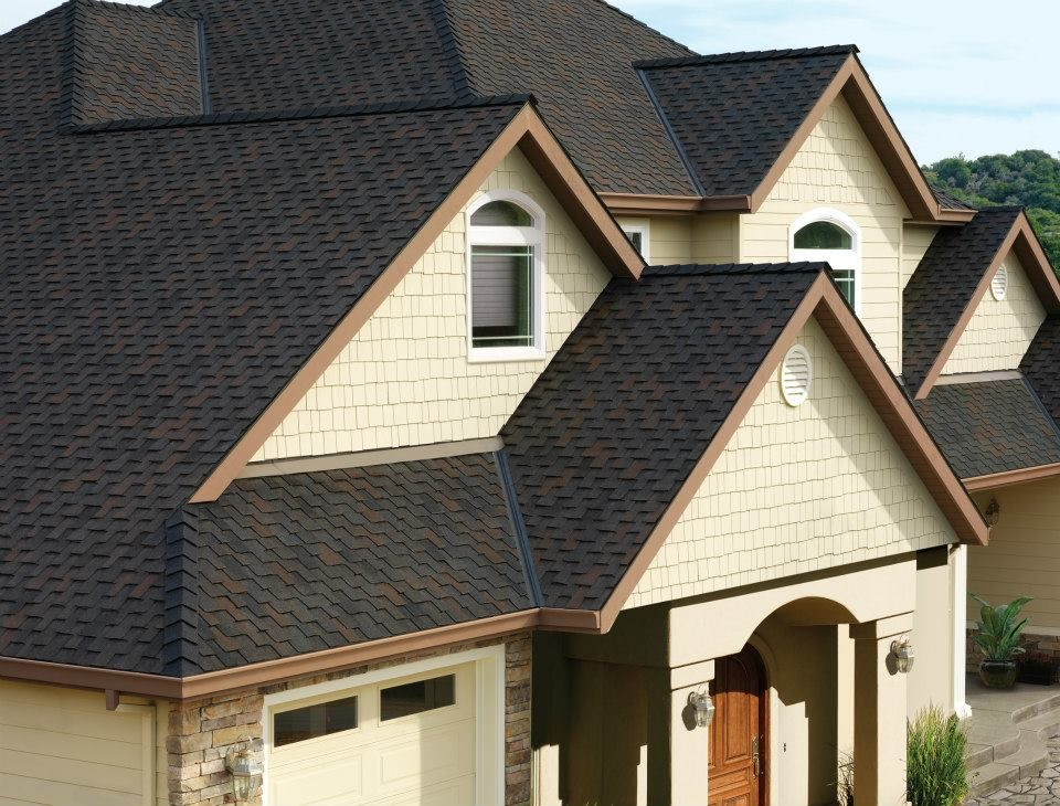 Best Gaf Grand Canyon Shingles In Black Oak Residential 400 x 300