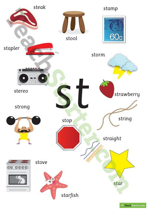 S Blends! | Word Work | Pinterest | Phonics, Kindergarten and School