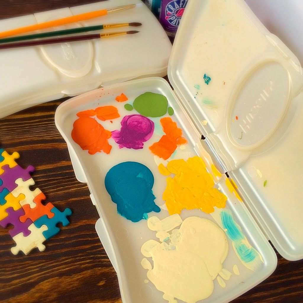 Twitchetts Crafty Mommy S Paint Saver Palette Crafty Crafts Painting
