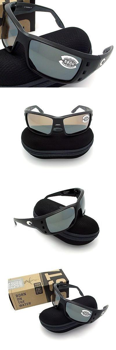 63ce7df63b2 Sunglasses 151543  Costa Del Mar Permit Black And Silver Mirror Glass 580  New 580G -