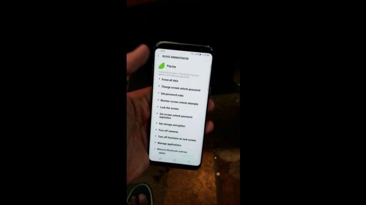 Unlock PayJoy software Samsung Galaxy S8 Plus G955U