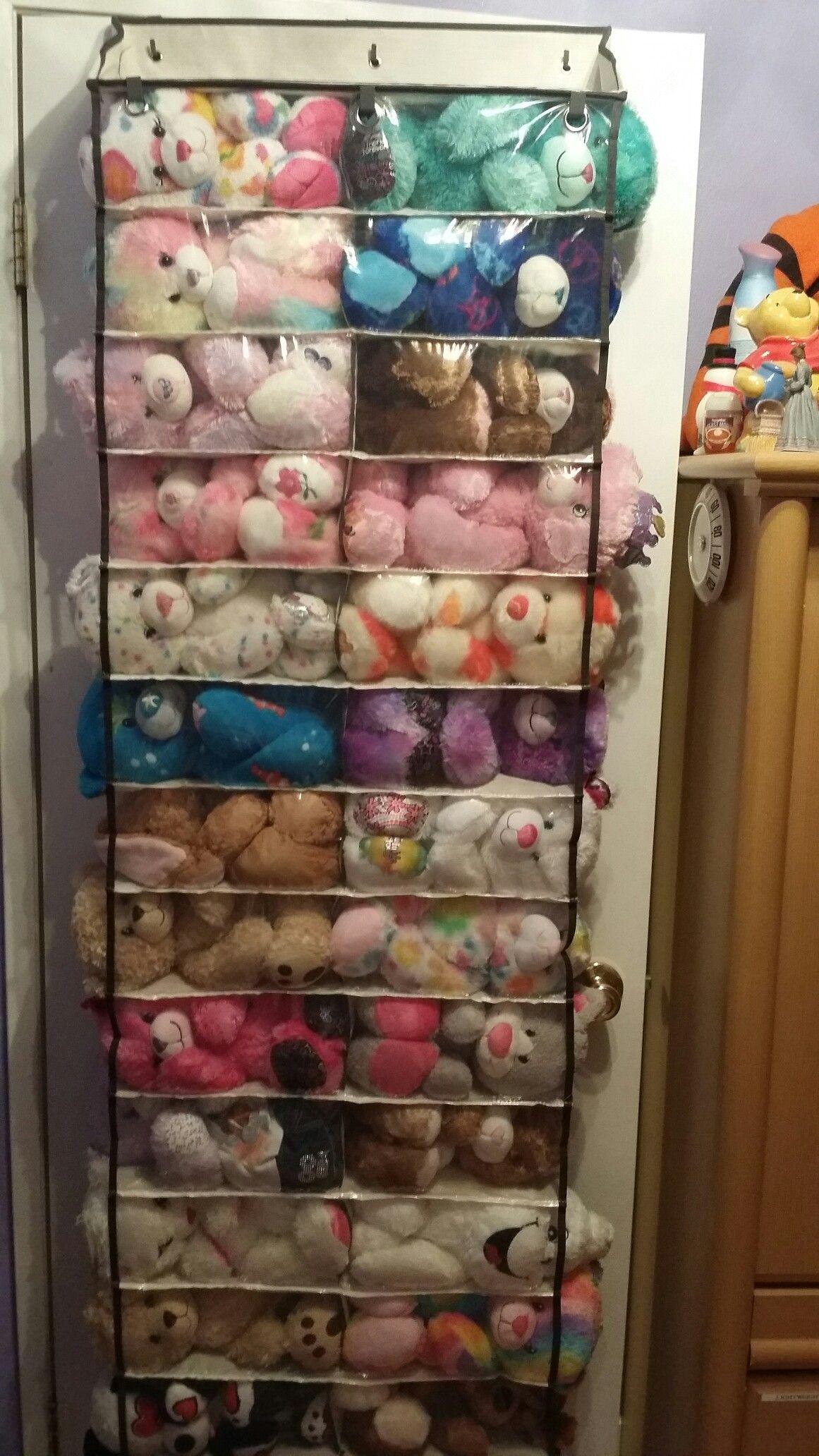 Buildabear stuffed animal toy storage Toy storage