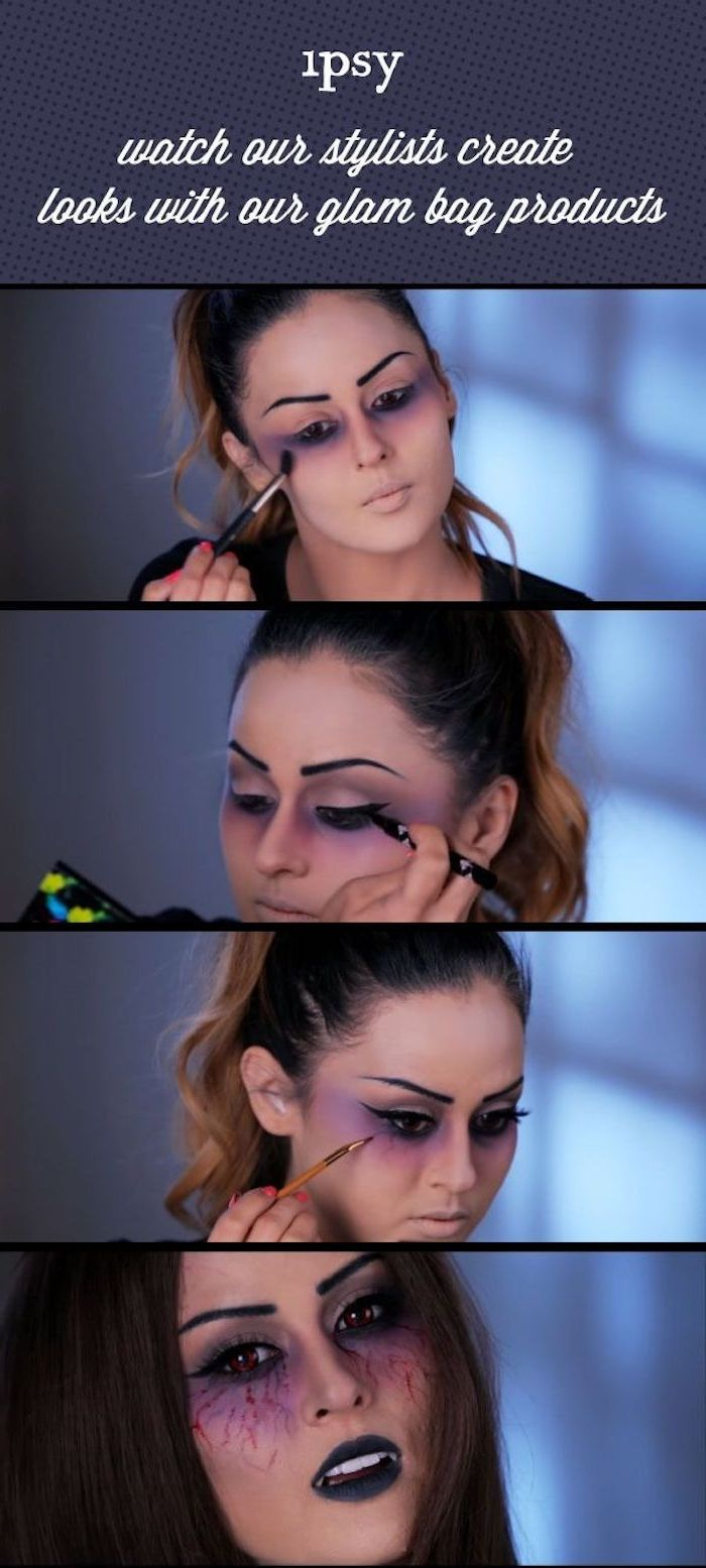 Vampire Face Make-Up – 29 Unique Ideas! – Archzine.net