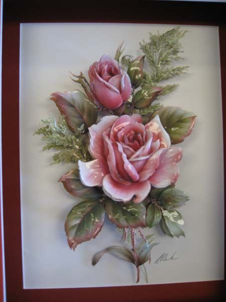 .paper tole @Emma Zangs Walters - another pretty paper tole picture.
