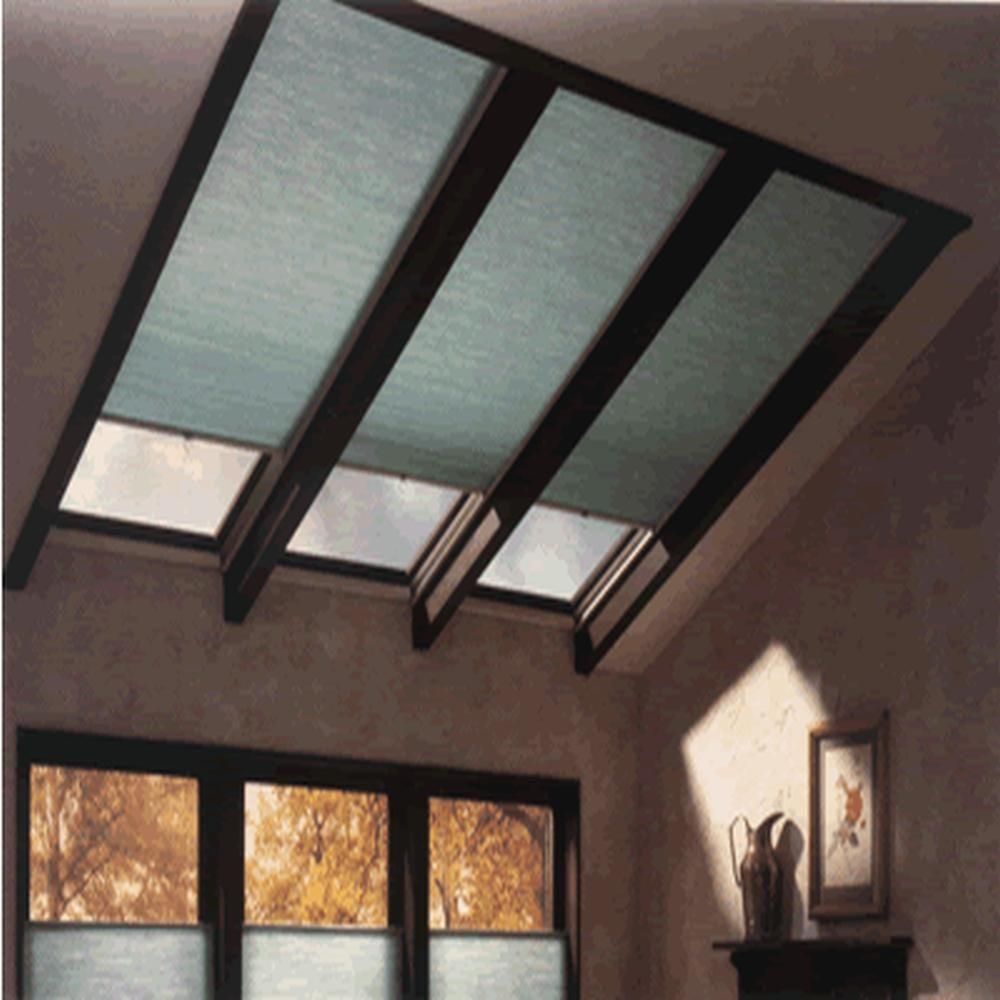 Home Decorators Collection Custom Color Room Darkening Skylight Cellular Shades Custom Skylight Shade Cellular Shades Skylight Covering