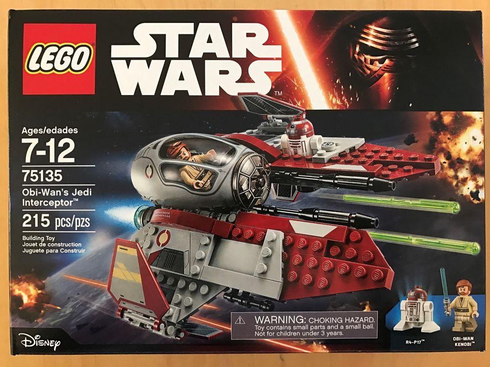 Newamp; Star Lego Obi Sealed Wan's 75135 Jedi Interceptor Wars Nisb MVSjUpzLqG