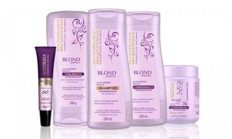Blond Desamarelador Desamarelador Shampoo Bio Extratus