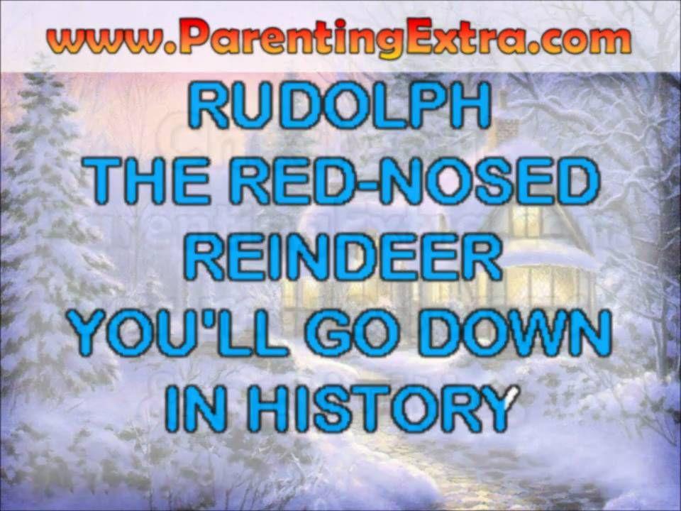 Rudolph the red nosed reindeer karaoke - modern christmas
