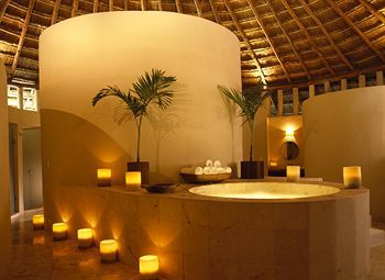 Indoor Spa Tub At Viceroy Riviera Maya In Riviera Maya Mexico Home Spa Room Spa Rooms Spa Decor