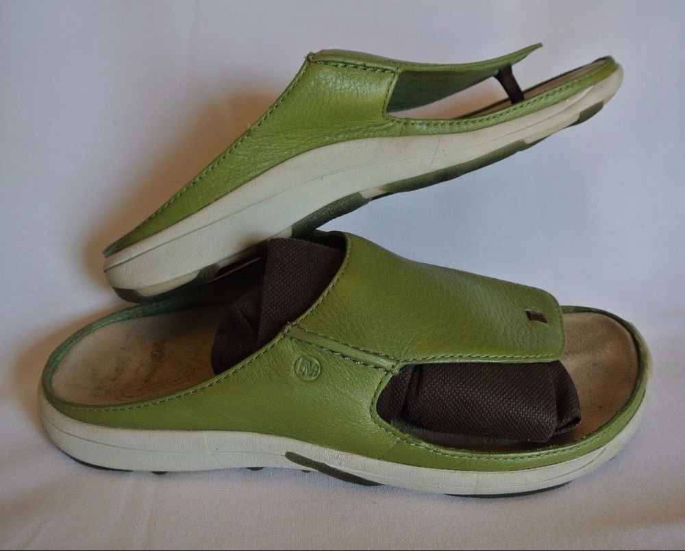 merrell womens sandals size 12 green