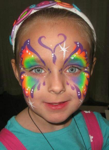 60 extraordinary face painting ideas paints activiteiten en vlinders - Geschilderde bundel ...