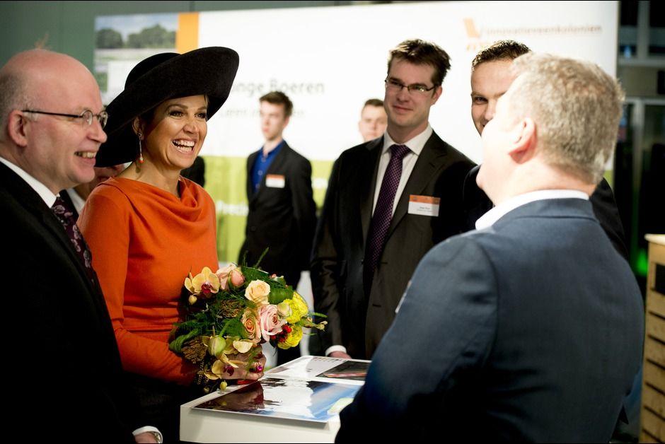King Willem-Alexander and Queen Maxima visited the Veenkoloniaal Museum in Veendam on February 17, 2015