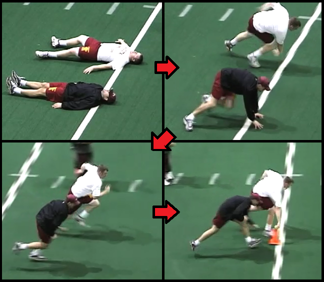 Defensive Line Drills Football drills, Football defense