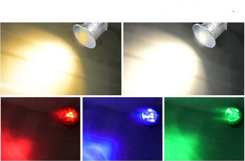 Mini 3w Cree Swimming Pool Fountain Led Underwater Spotlight Light Ip68 Waterproof Recessed Buried Lamp 12v 24v Underwater Lights Led Lights Spotlight Lighting