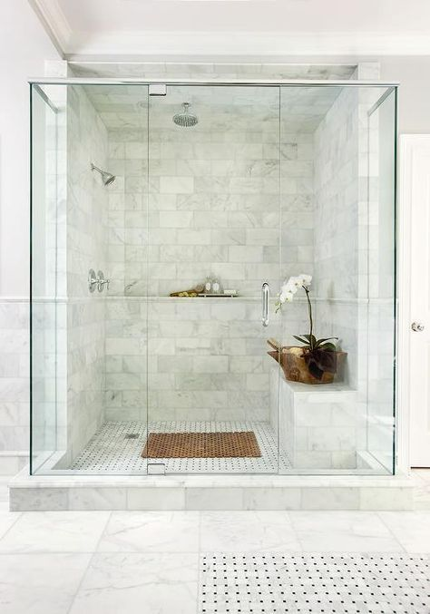 Marble Shower Shelf Marble Bathroom Designs Master Bathroom