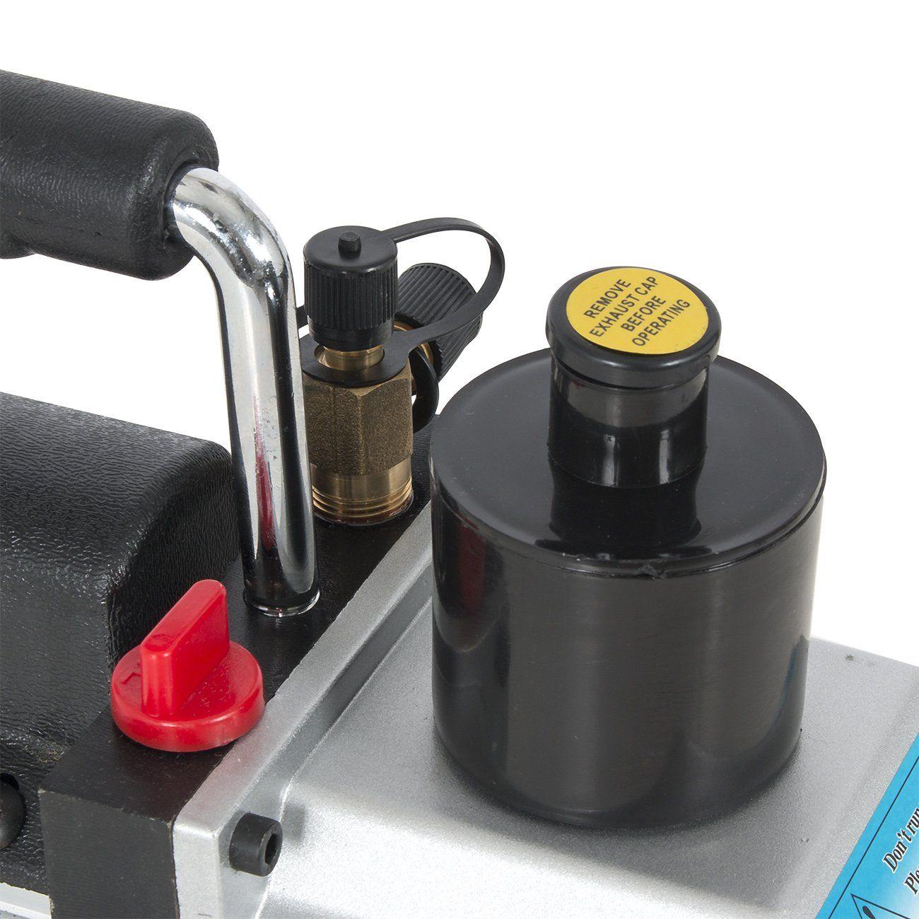 ARKSEN 1/2HP 5 CFM Vacuum Pump Refrigerant AC Recharge