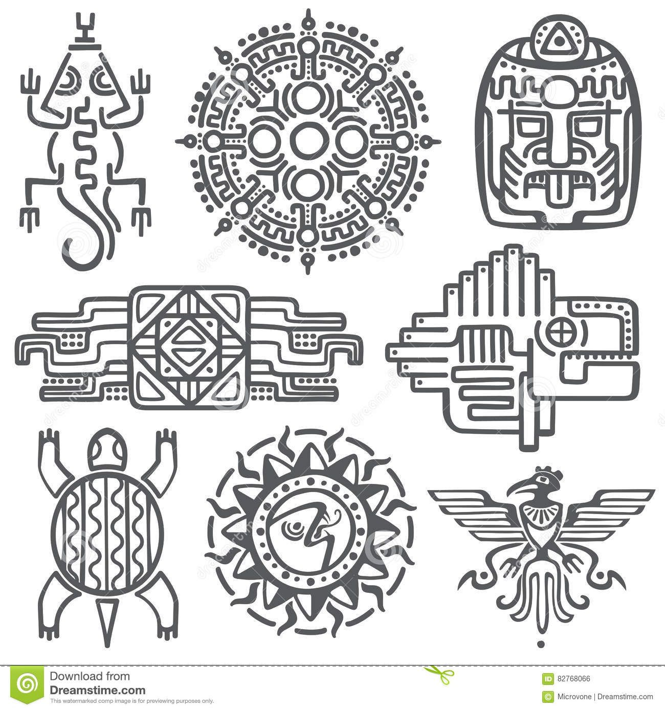 Image Result For Symbole Indianskie Day Of The Dead