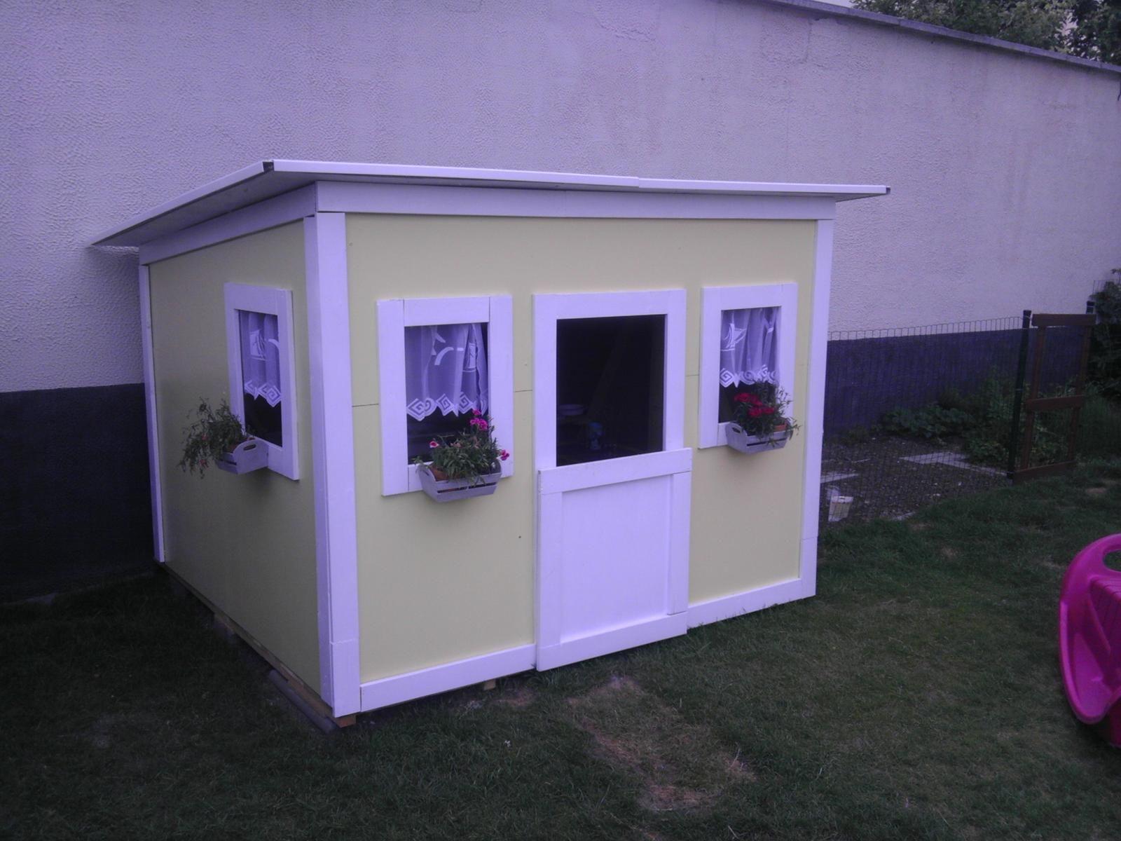 Ako urobiť záhradný domček pre deti? -  - Záhrada