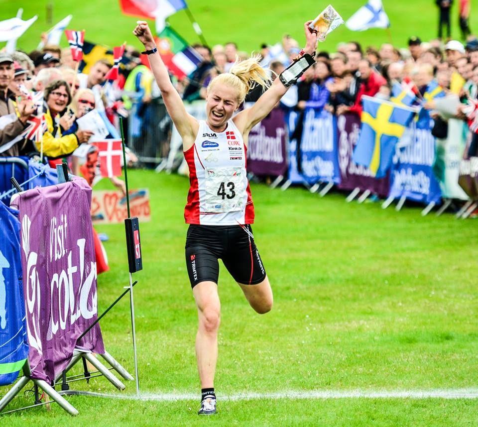 World Champion and favourite Maja Alm (Denmark) dominated
