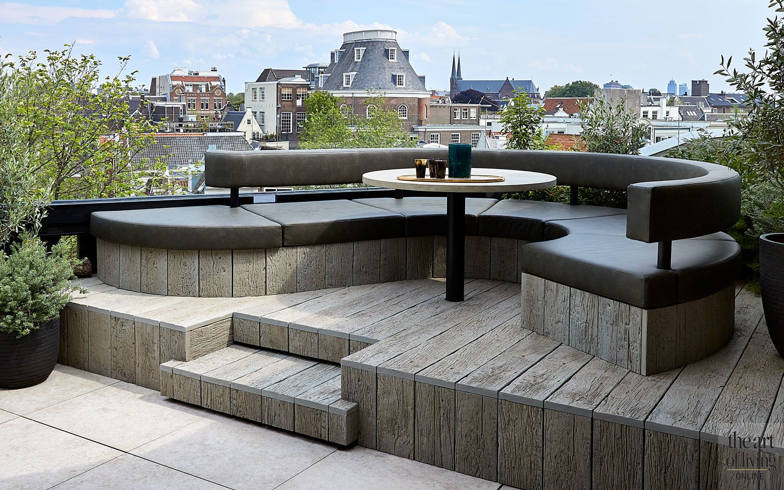 Modern penthouse | Osiris Hertman