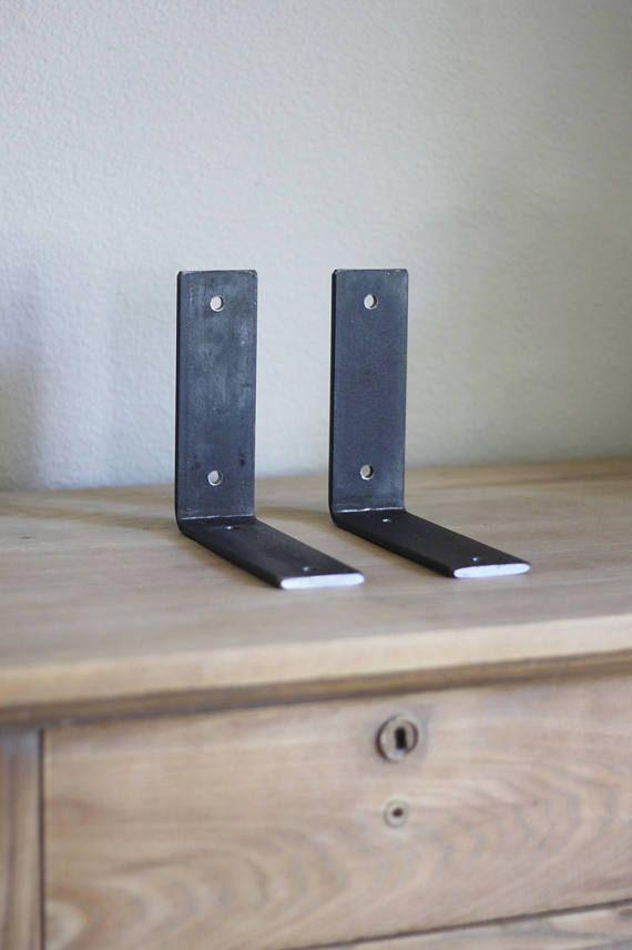Heavy Duty Bracket L Brackets For Shelf Hardware Included L Bracket Shelves Shelf Brackets Steel Shelf Brackets