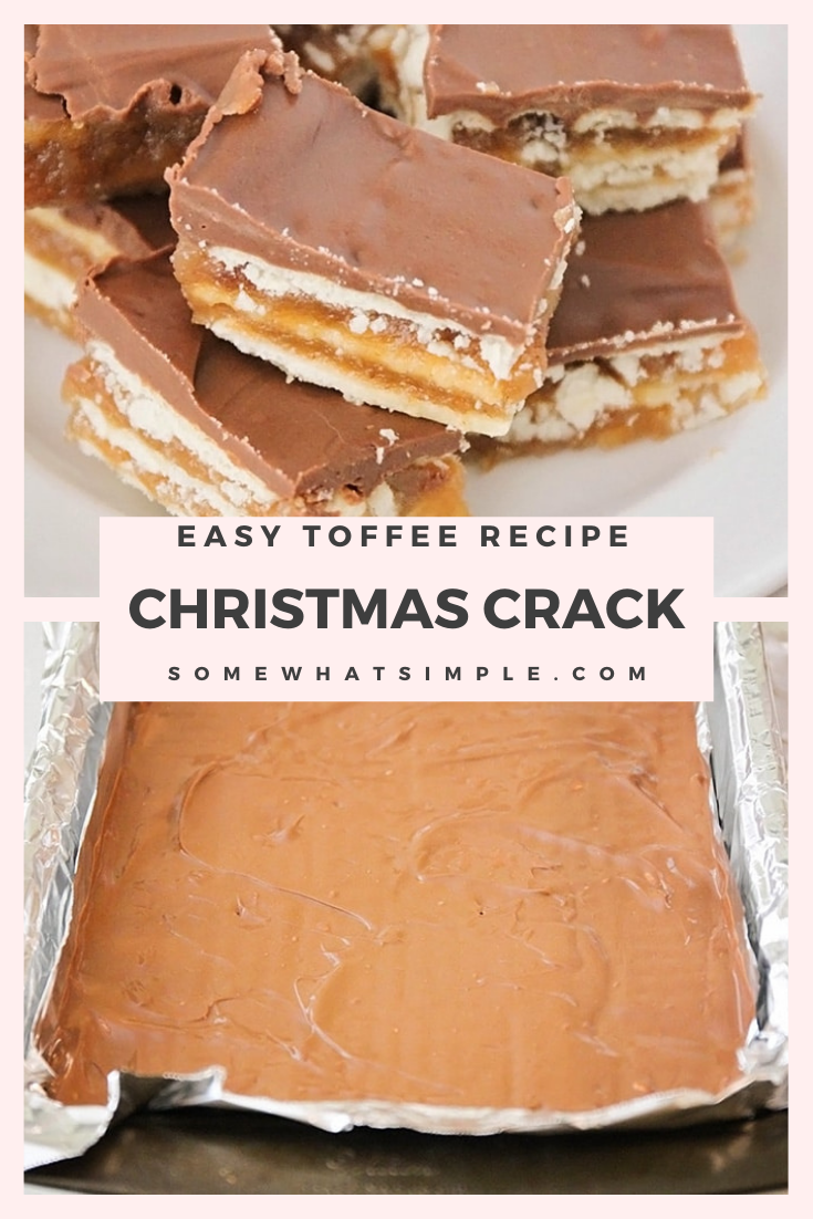 Photo of Christmas Crack (Easy Toffee Recipe) | Somewhat Simple