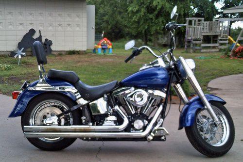 2002 Harley Davidson Fatboy, Price:$8,500 OBO  Tulsa