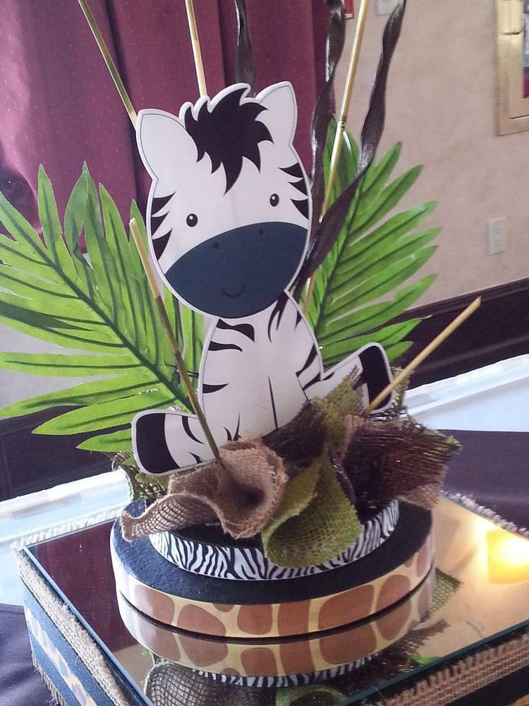 Jungle Safari Baby Shower Baby Shower Party Ideas (With