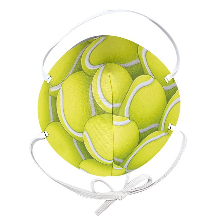 General Use Face Mask Tennis Ball Print Blank In 2020 Tennis Ball Face Mask Ball