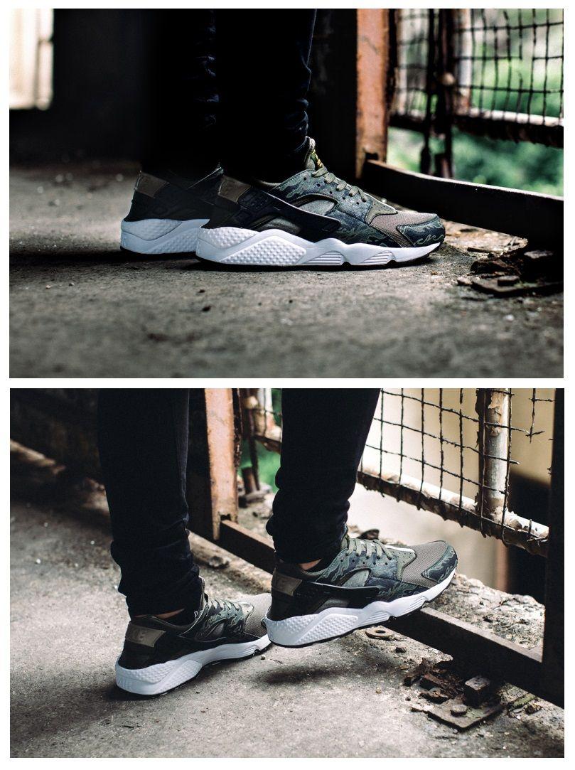 "quality design e9154 11c8f SBTG for HYPEBEAST x Nike Air Huarache ""AWOL Camo"""