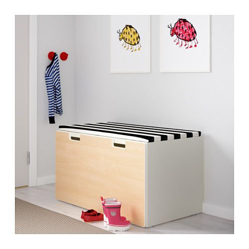 Stuva Banc Avec Rangement Blancbouleau Ikea Armoires
