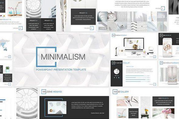 download creativemarket minimalism powerpoint template 1930309 free