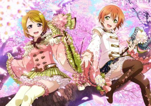 Hanayo and Rin