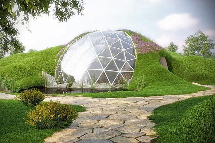ökologische Häuser biodomes organic architecture haus and architecture