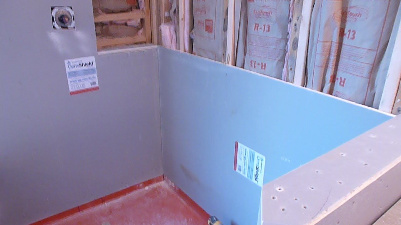 How to install shower surround tile backer board, durock or cement board...