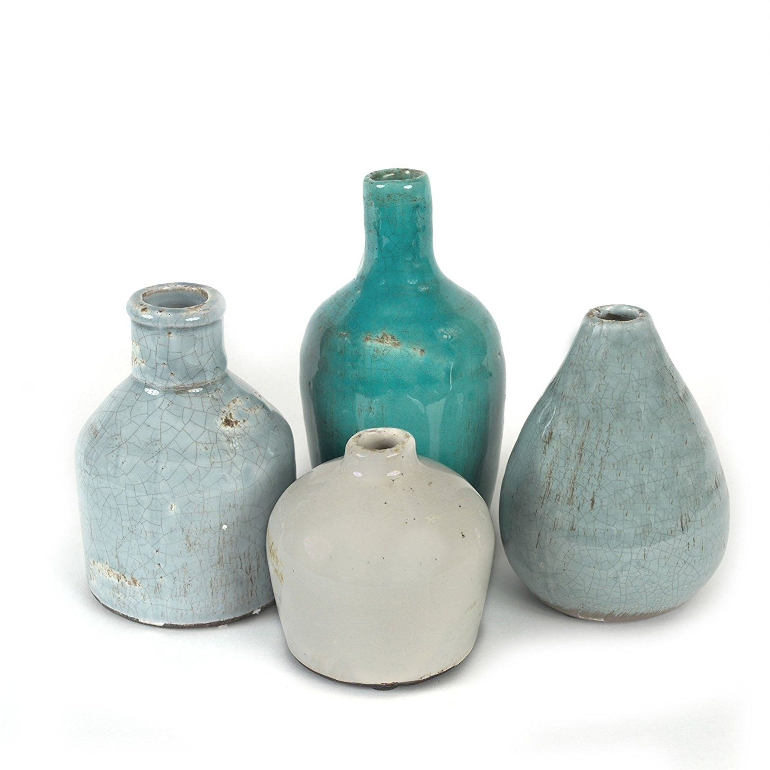 Amazon.com: Creative Co-Op DA1092 Terra Cotta Vase Set: Home ...