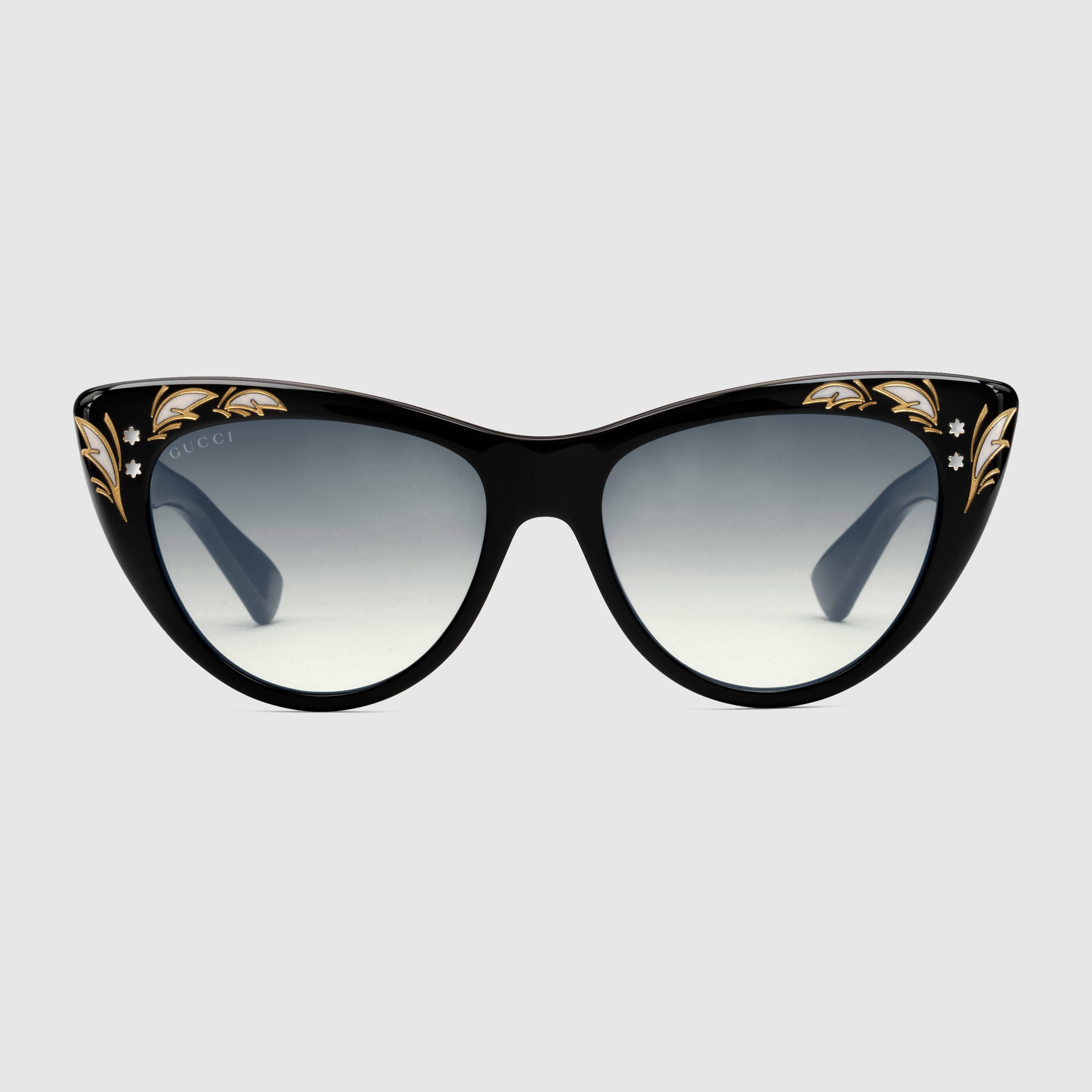 Sonnenbrille in Katzenaugenform | A ACCESORIES | Pinterest | Brille ...