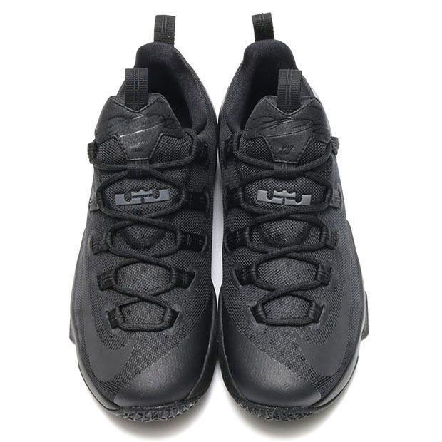 4a551aca2108 Nike LeBron 13 Low Triple Black 831926-001