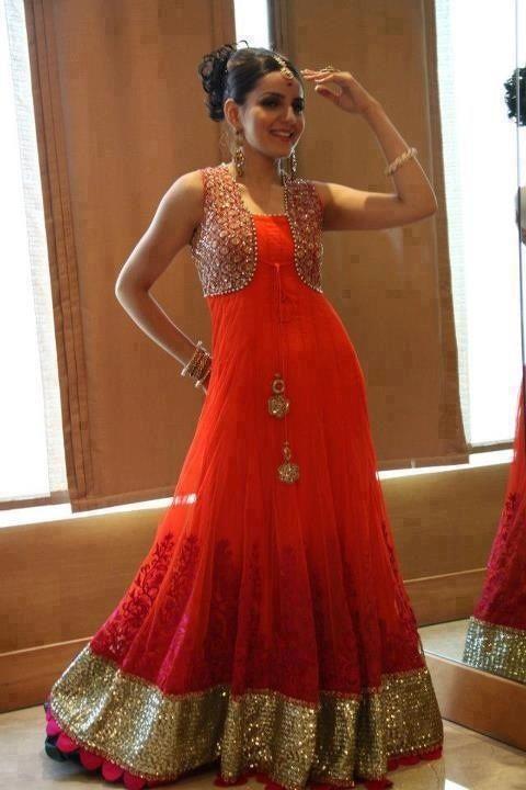 Latest Stylish Koti Designs For Girls 2017pakistani Koti New Dress Indian Attire Designer Dresses Dresses