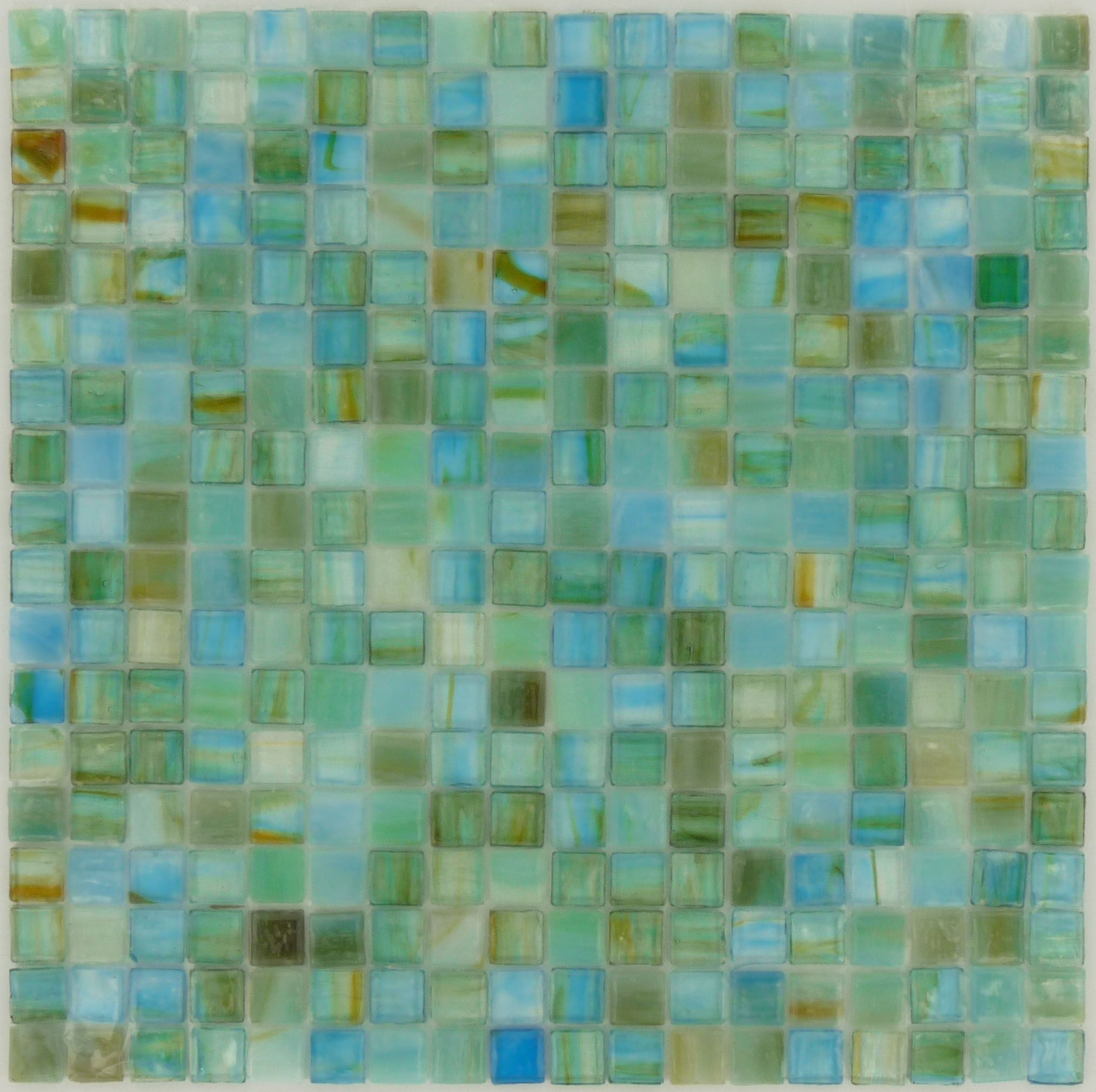 "Glass Tiles In Bathroom: Botanical Glass Sea Glass Tiles, 5/8"" X 5/8"", Prairie"