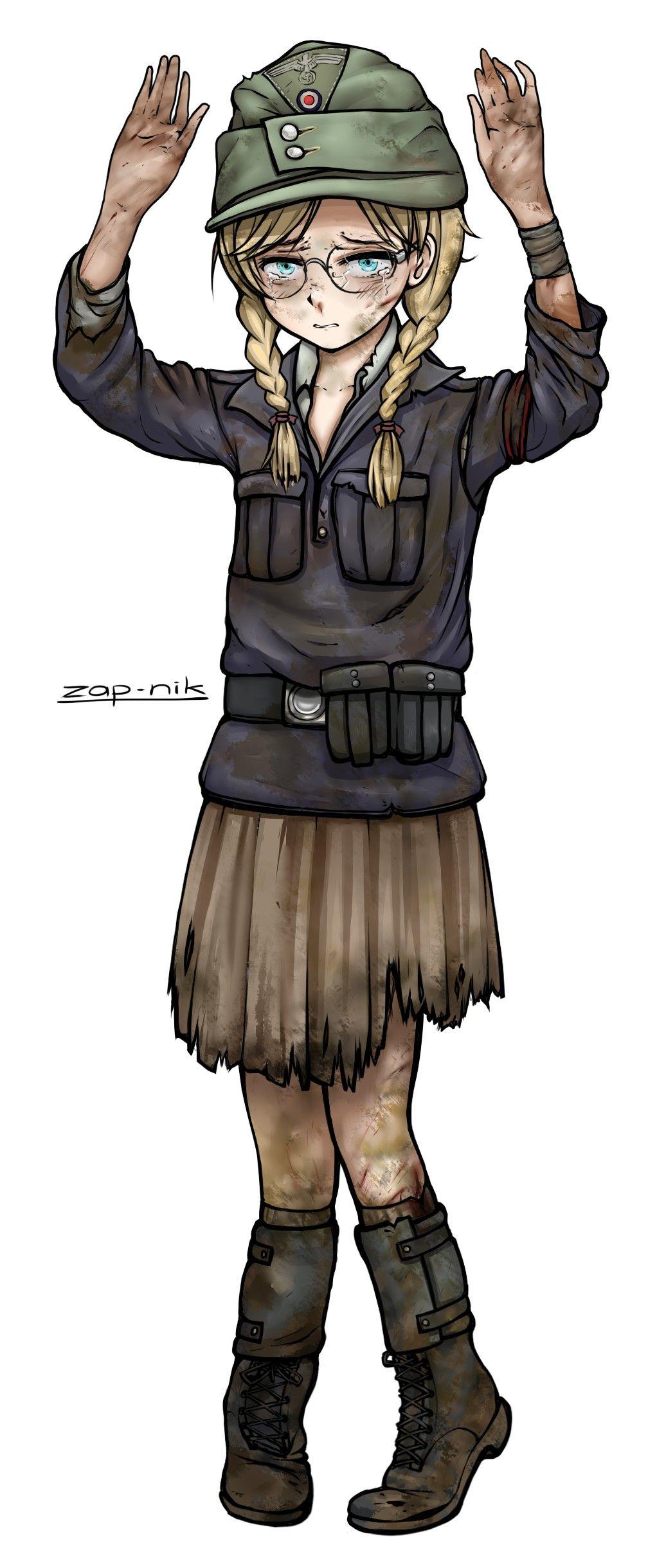Pin de Norpino en Panzer Girls Cartoon en 2020 Militar