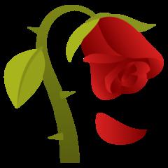 Wilted Flower Emoji Rose Emoji Flowers Wilted