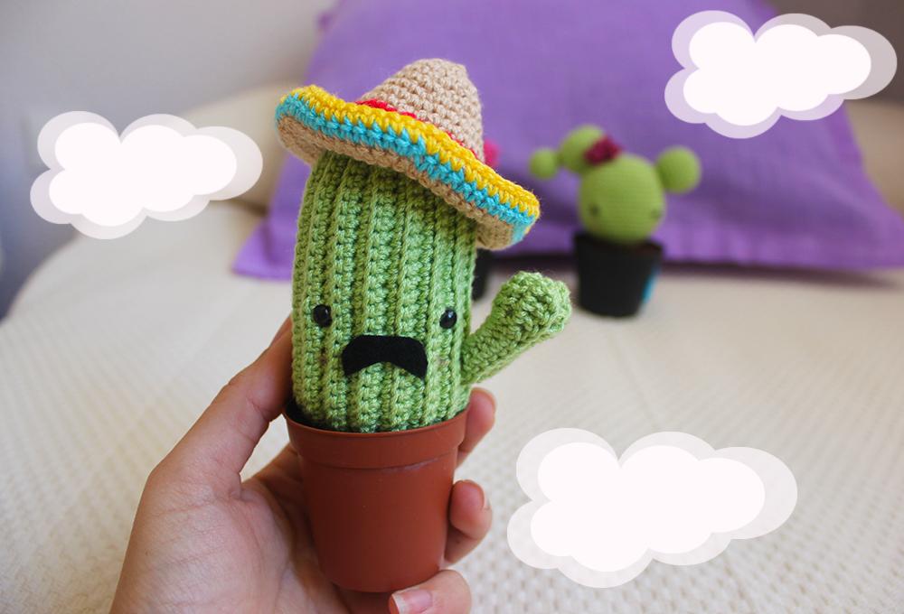 Amigurumi Cactus Tejido A Crochet Regalo Original : Buenas a todos un día más tenía muchísimas ganas de escribiros